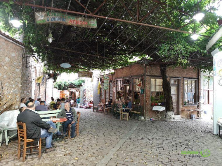 Agiassos dağ köyü, Midilli gezilecek yerler