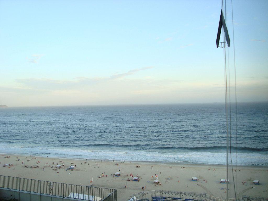 Copacabana'da otelimizden