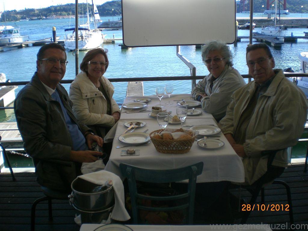 5 Oceanos Restaurant, Lizbon Şehir Turu, Porto - Lizbon Gezisi Notları