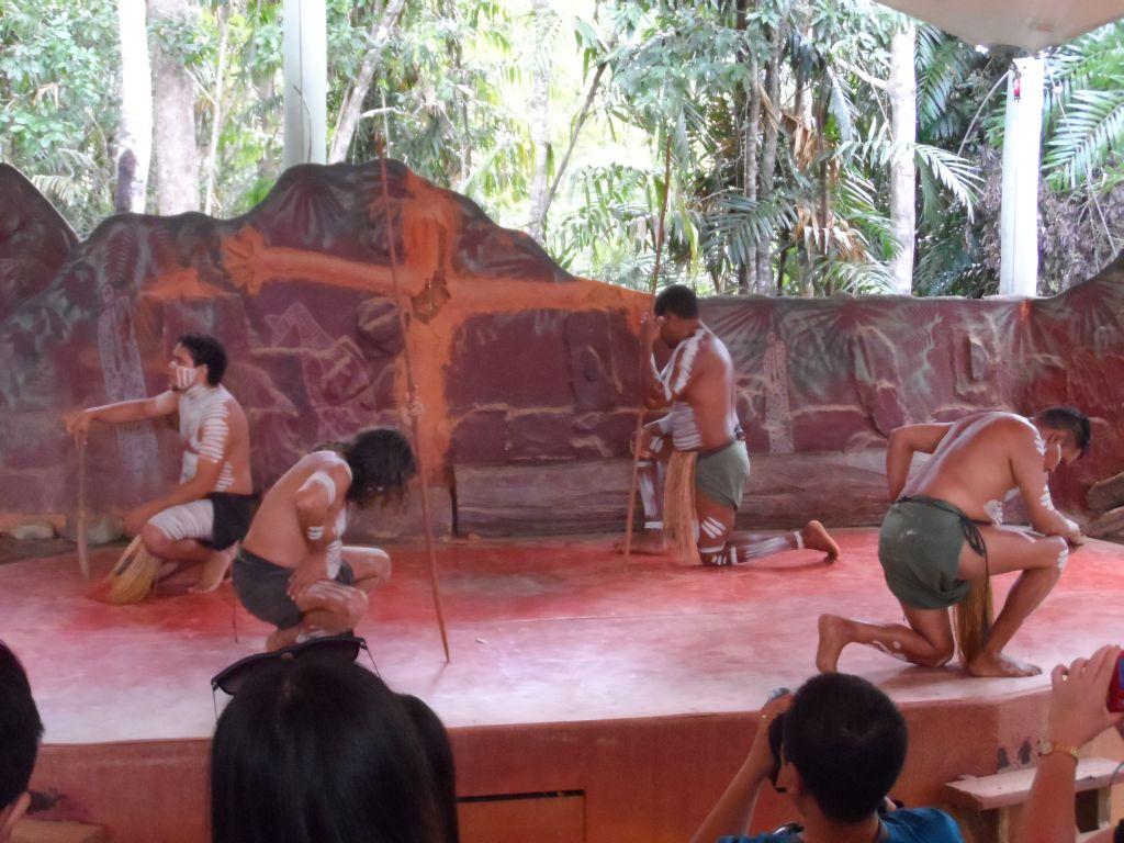 Aborjin yerel dansları