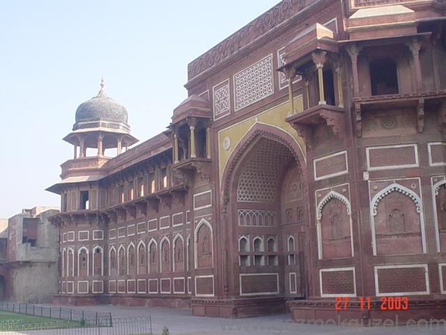 Agra Fort, Hindistan