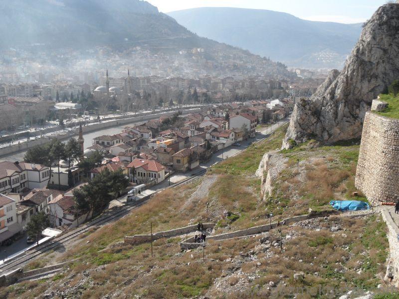 Amasya'ya Tepeden Bakış, Amasya Gezilecek Yerler