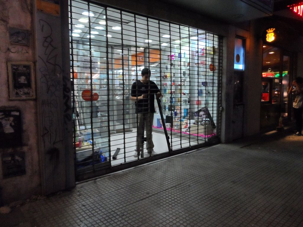 Arjantin'de dükkan kepenkleri 4