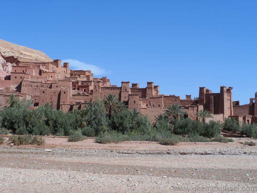Atlas Dağları Gezilecek Yerler ait Ben Haddou