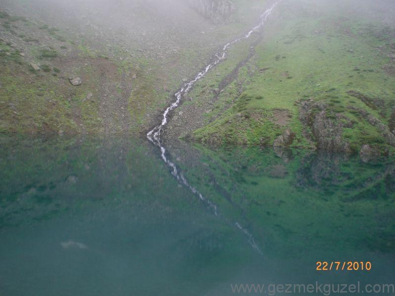 Avasor Yayalası Sirk Gölü, Rize