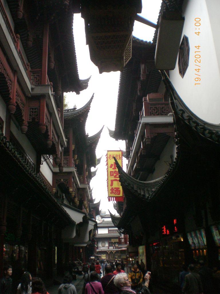 Şangay Yu Yuan bahçelerinde