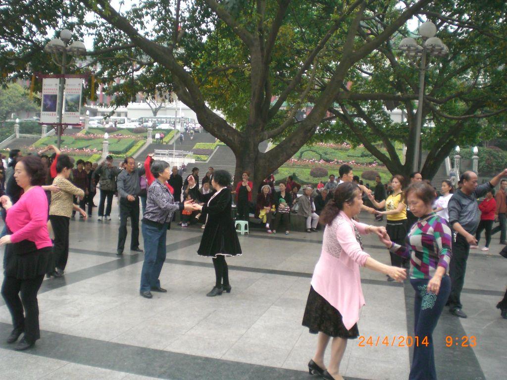 Chongqing halk meydanı