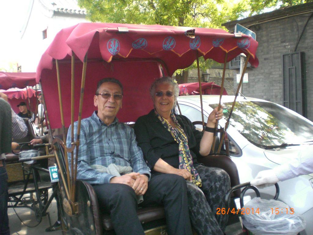 Pekin'de çekçek turu
