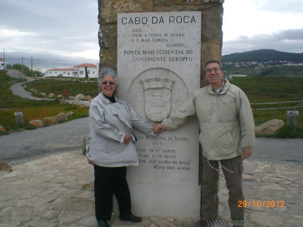 Cabo de Roca Burnunda, Sintra Turu, Porto - Lizbon Gezisi Notları