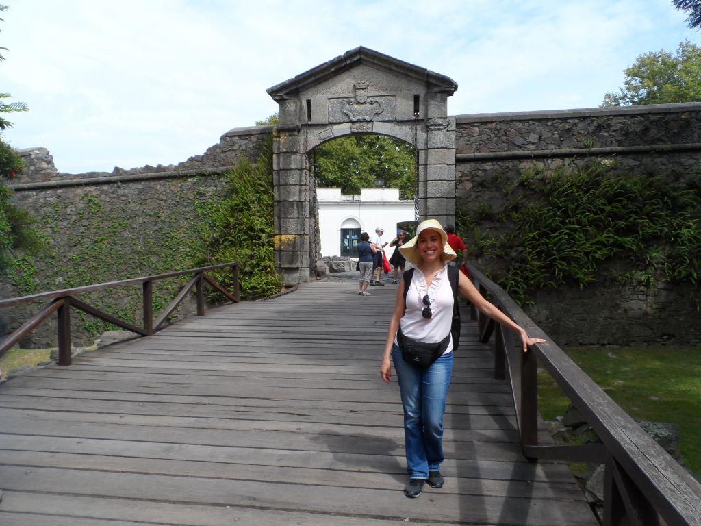 Colonia del Sacramento Eski kent girişi