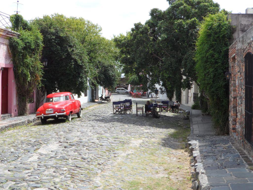 Colonia del Sacramento Sokakları