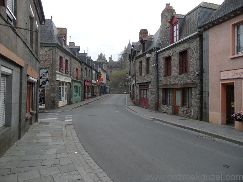 Combourg Sokakları - Mont Saint Malo