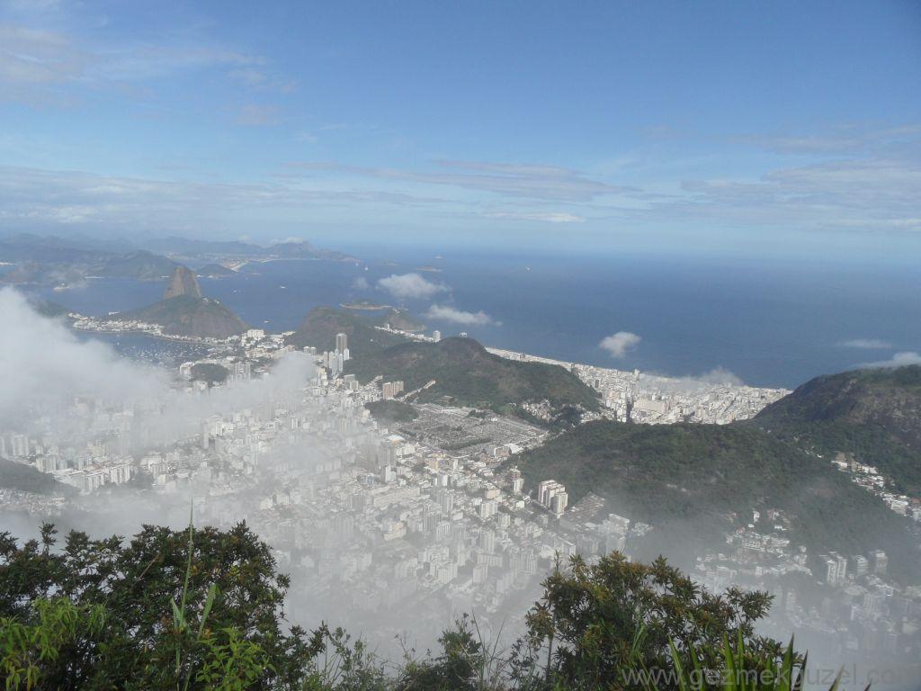 Corcovado'dan Manzara, Rio Gezisi, Brezilya Gezisi Notları