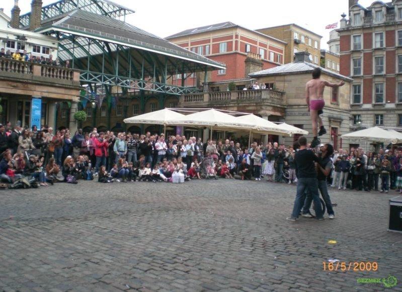 Covent Garden, Londra Gezisi Notları