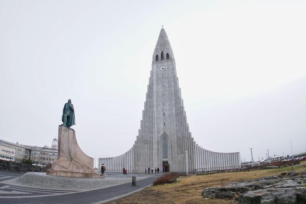 Reykavik'de katedral