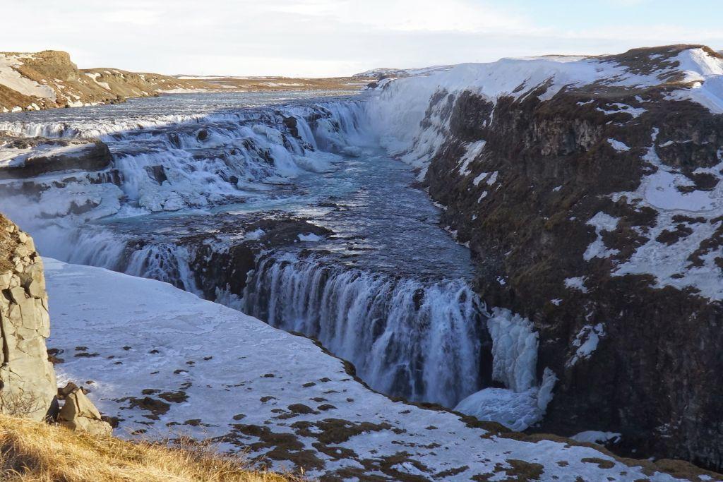 İzlanda Gullfoss Şelaleleri