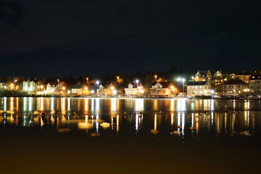 Reykavik'de Gece