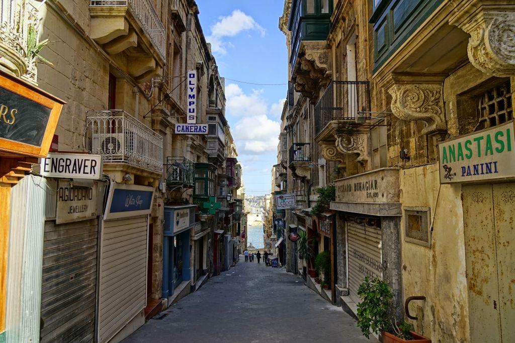 Malta'nın dar sokakları