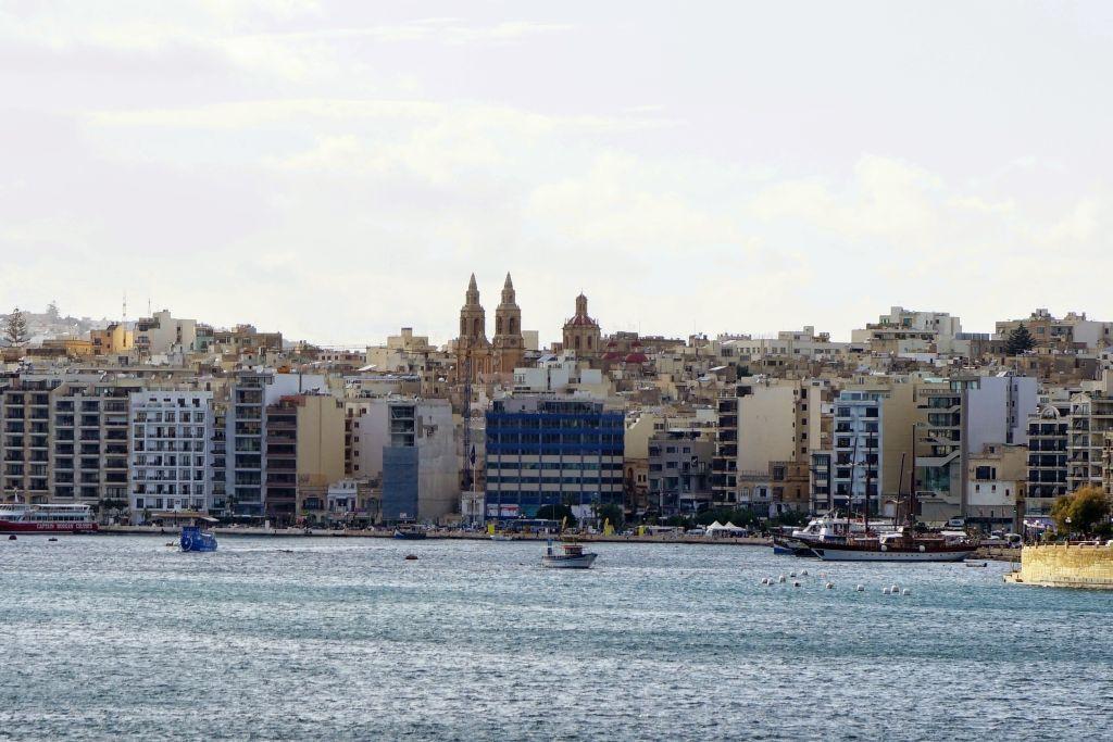 Malta Sliema bölgesi