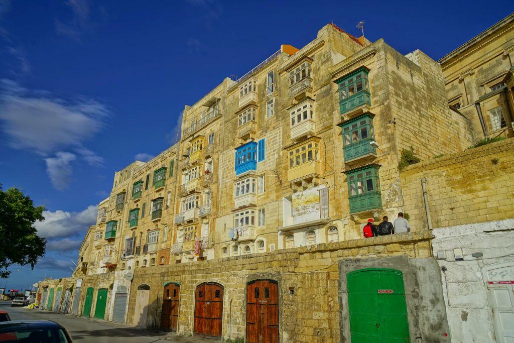 Malta'nın Sütlü Kahve binaları