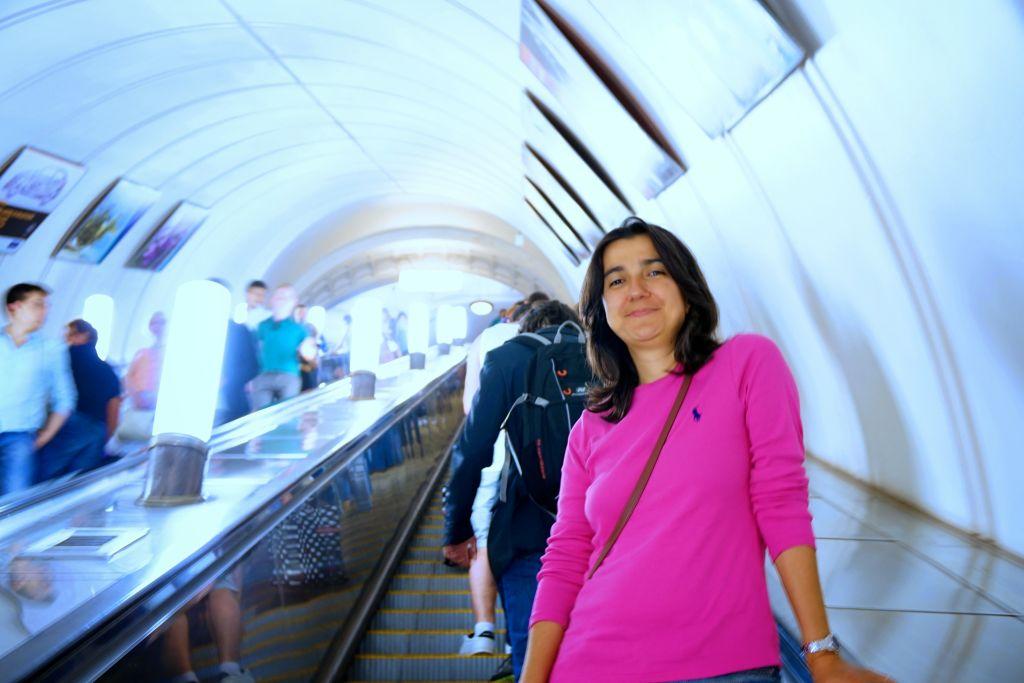 Moskova metrosunda