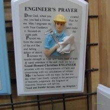 Engineer Prayer Basilica Minore del Santo Nino - Cebu Gezilecek Yerler