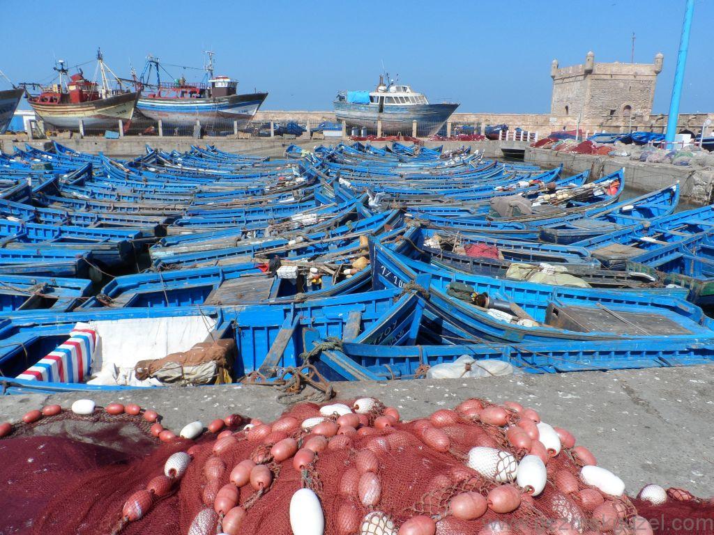 Essaouira Balıkçı Tekneleri