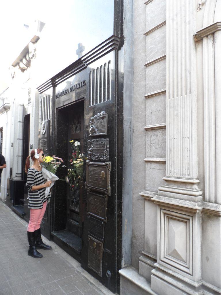 Eva Peron - Evita'nın mezarı
