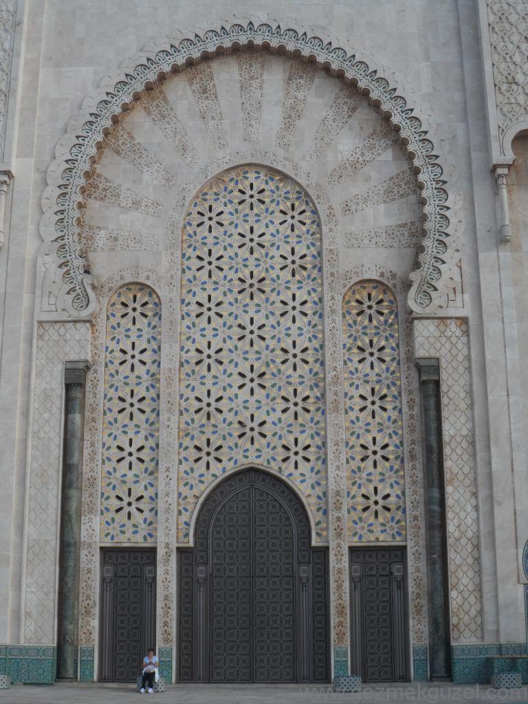 Fas Gezisi Notları, Kazablanka Gezilecek Yerler, Hasan II Camii Detayları