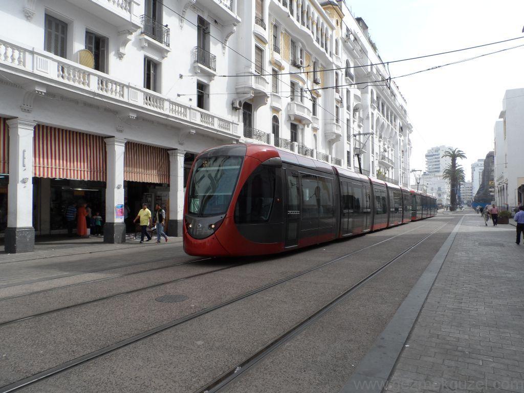 Fas Gezisi Notları, Kazablanka Tramvayı