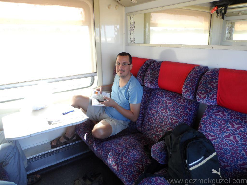 Fas Gezisi Notlari, Fas Treni 1. Sınıf Kompartman