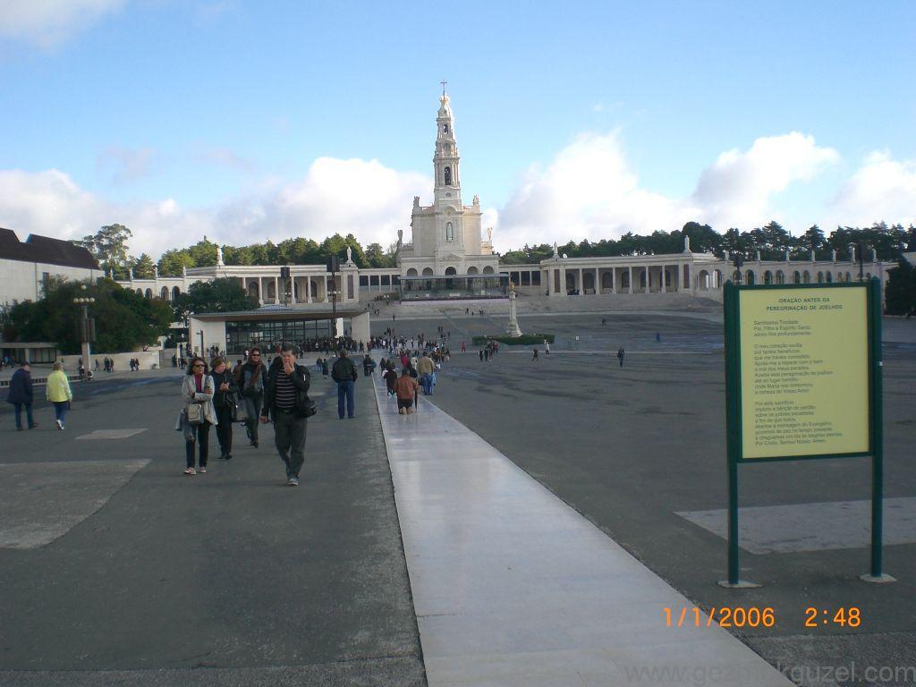 Fatima Kilisesi, Lizbon Şehir Turu, Porto - Lizbon Gezisi Notları