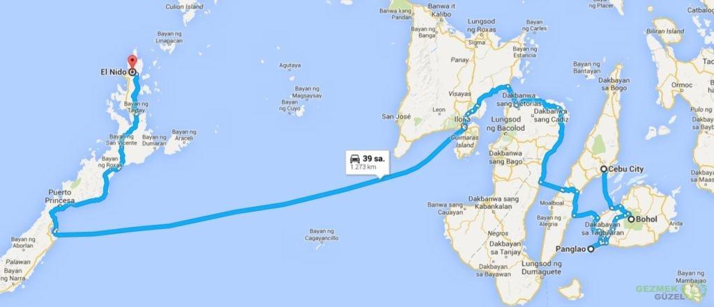 Filipinler Gezi Planı, Filipinler Gezisi Notları