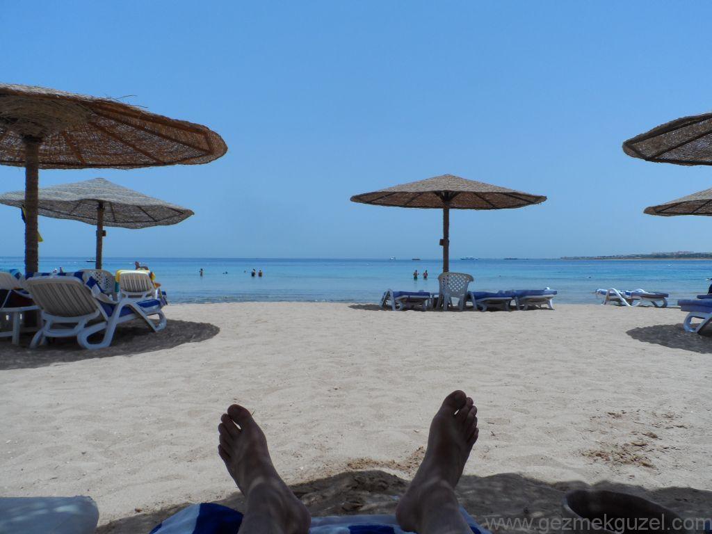 Fort Arabesque Plajı, Hurghada'da Tatil