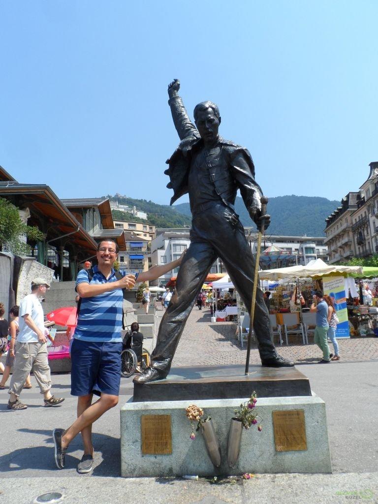 Freddie Mercury Heykeli, Montrö Gezilecek Yerler