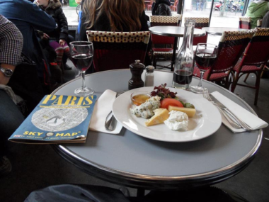 Paris'te Cafe