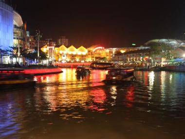 Singapur Nehrinde Gece