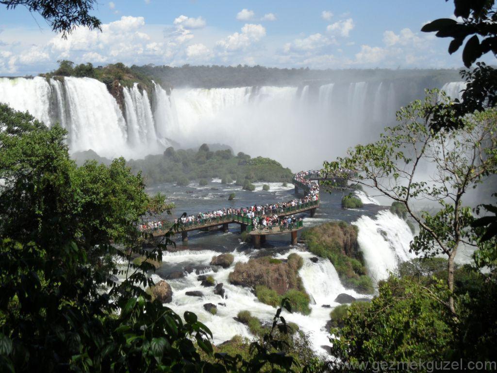 Gargante del Diablo'ya bakış, Iguazu Şelaleleri, Brezilya Gezisi Notları