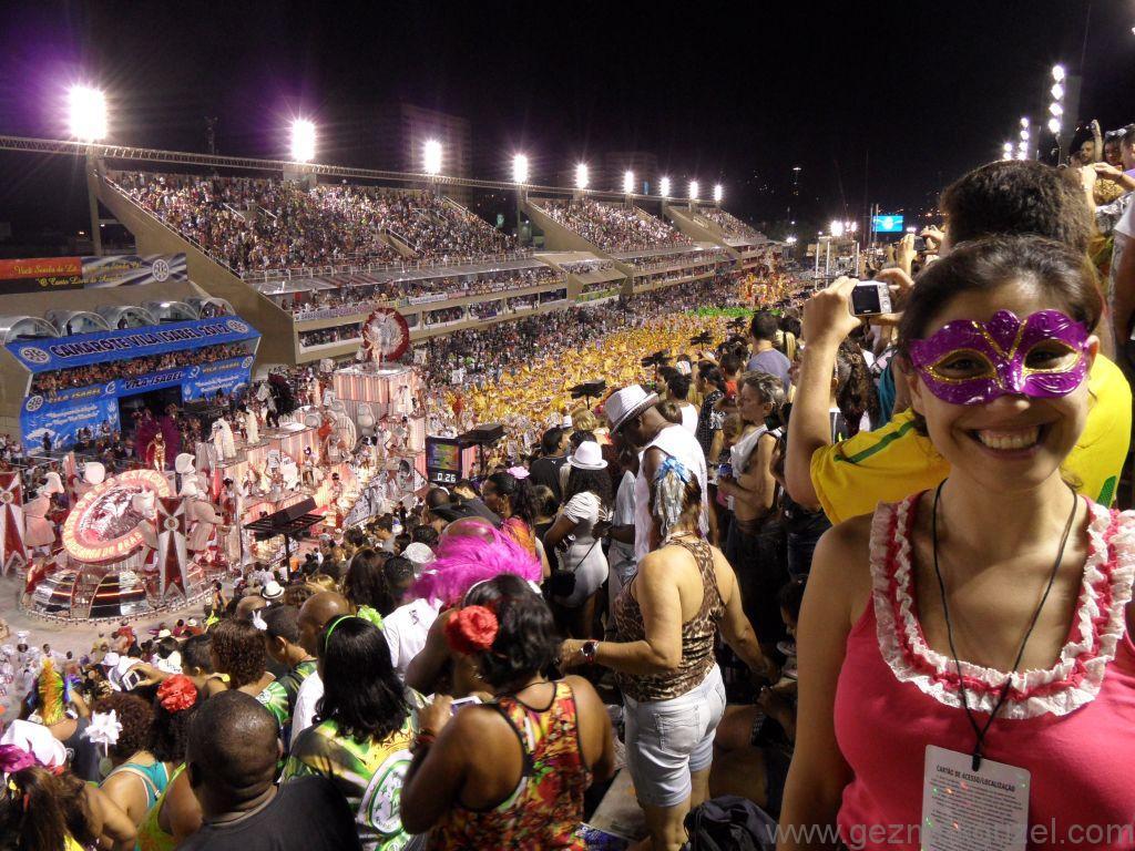 Geçit Töreninde, Rio Karnavalı, Brezilya Gezisi Notları