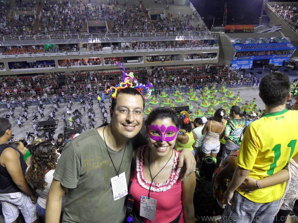 Gezmek Güzel, Sambadrome Tribünleri, Rio Karnavalı, Brezilya Gezisi Notları