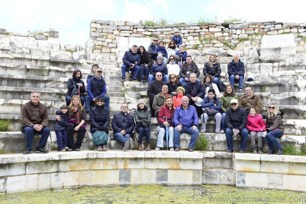 Grupça Odeon'da, Afrodisyas Antik Kenti