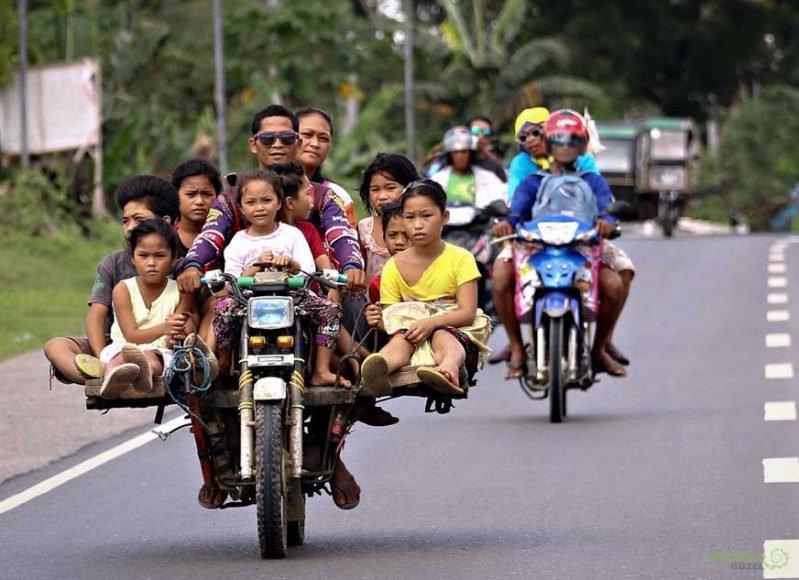 Habal Habal, Filipinler'de Ulaşım