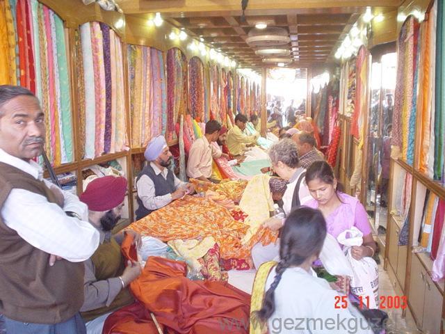 Hint Kumaşçısı, Hindistan
