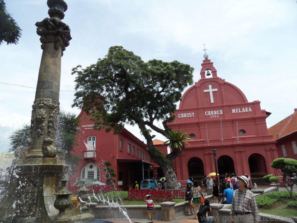Hollanda Meydanı (Dutch Square), Melaka Gezilecek Yerler