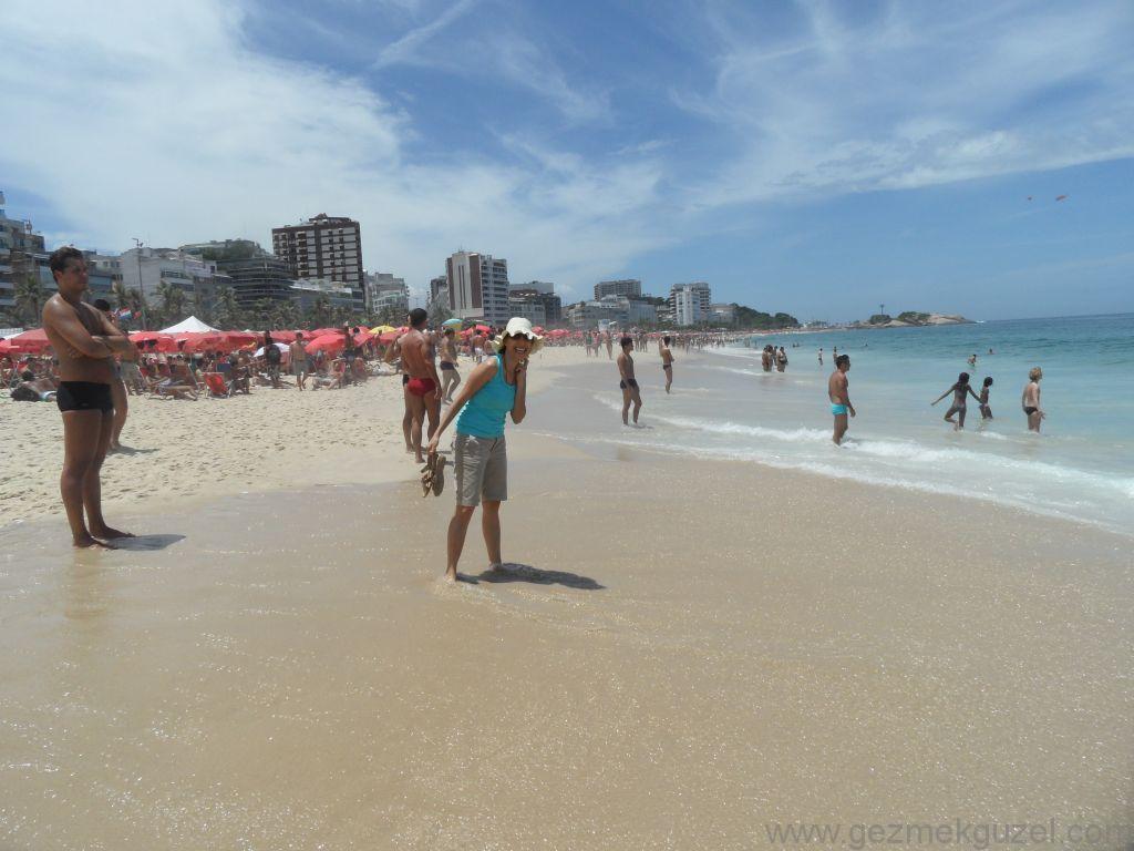 Ipanema Sahilinde, Rio Gezisi, Brezilya Gezisi Notları