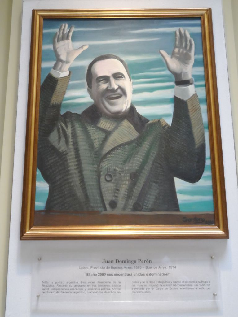 Juan Domingo Peron'un Portresi