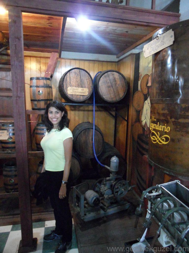 Küba Gezisi Notları, Havana Gezilecek Yerler, Havana'da Rom Fabrikası