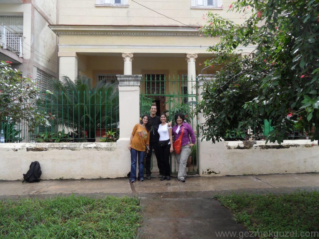 Küba Gezisi Notları, Havana Gezilecek Yerler, Havana'daki Casa'mız