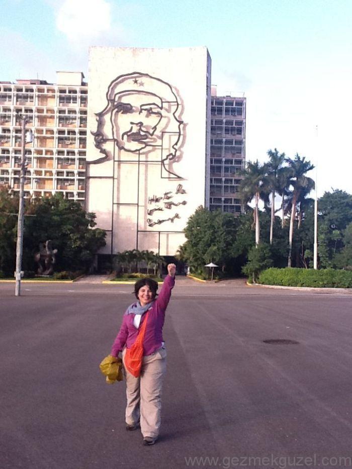 Küba Gezisi Notları, Havana Gezilecek Yerler, Plaza de la Revolucion
