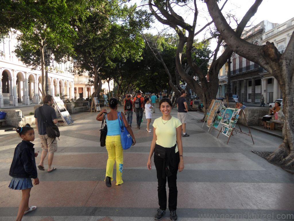 Küba Gezisi Notları, Havana Gezilecek Yerler, Prado Sokağı